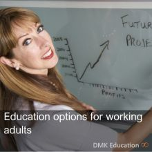 Education options for working adults