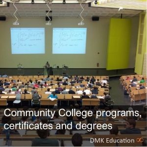 Community college programs, certificates and degrees