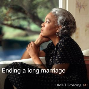 Ending a long marriage
