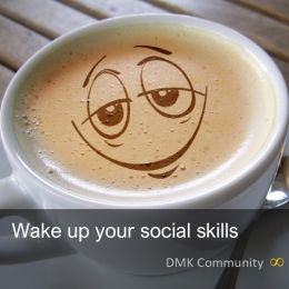 Wake up your social skills