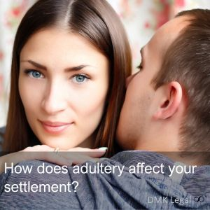 How does adultery affect my settlement?