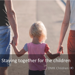 Staying together for the children