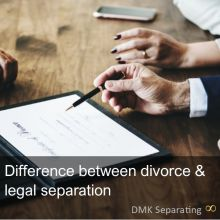 Difference between divorce and legal separation